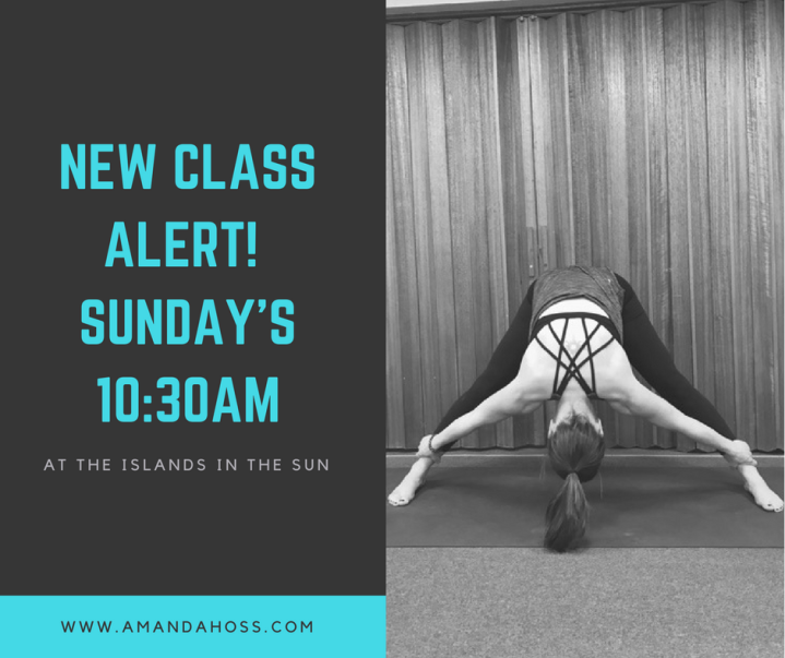 new classalert! Sunday's10_30am